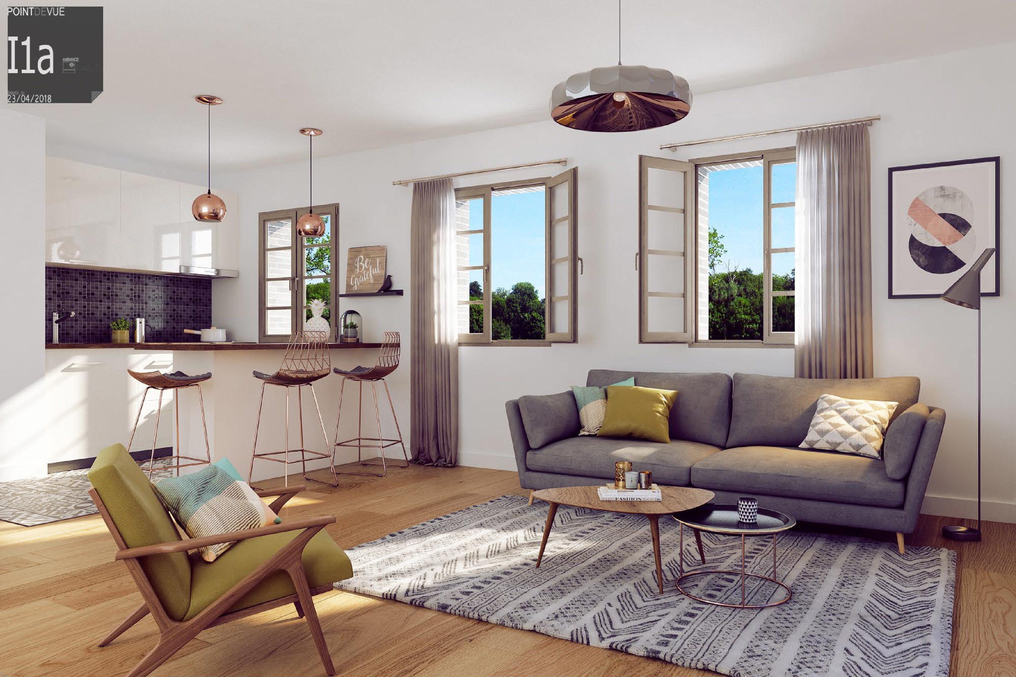 Appartements St-Aubin –  Hyper Centre Toulouse- Dernier lot dispo T4